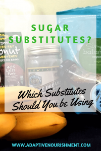 Sugar Substitutes Pin