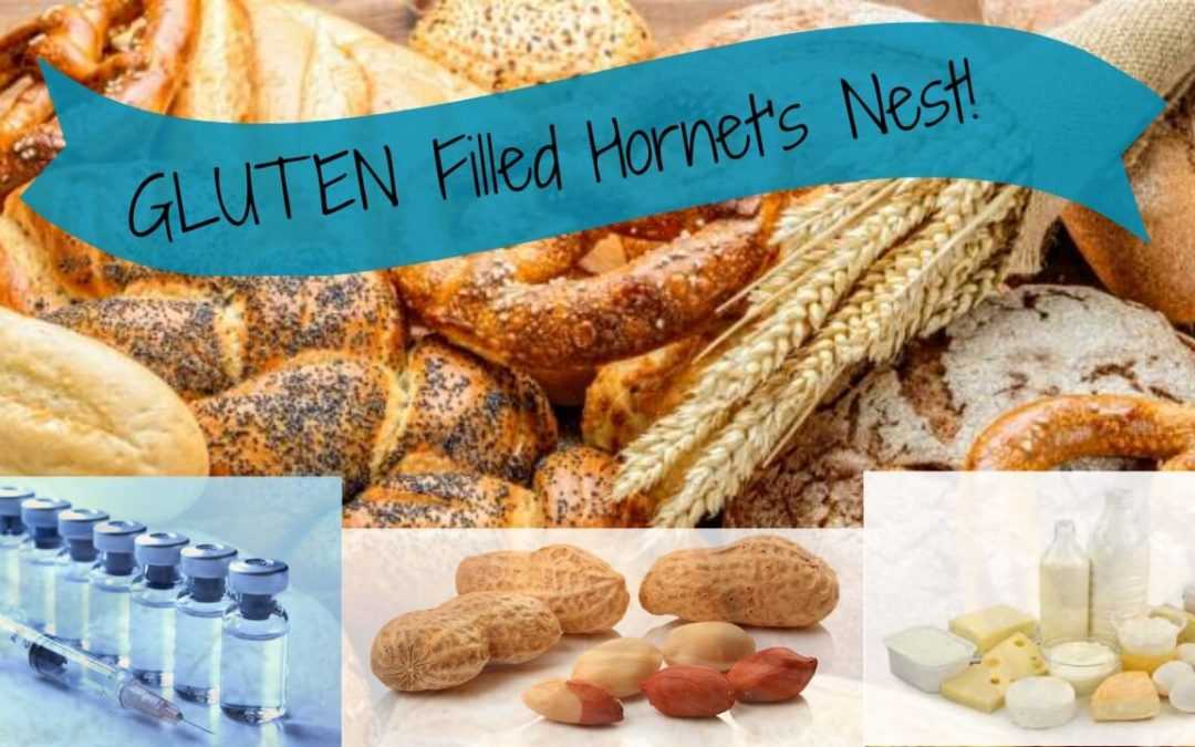 It's Time to Poke the GLUTEN Filled Hornets Nest!