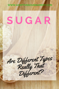 Are all sugars really created equally?